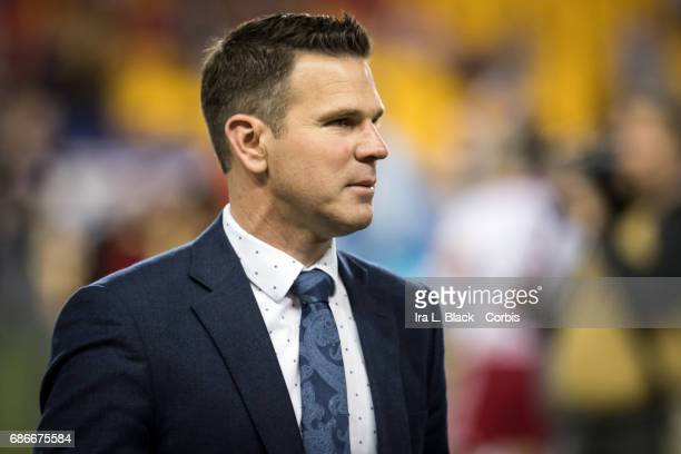 Greg Vanney Head Coach of the Toronto FC after the Toronto FC vs New York Red Bulls MLS match at Red Bull Arena on May 19 2017 in the Harrison New...