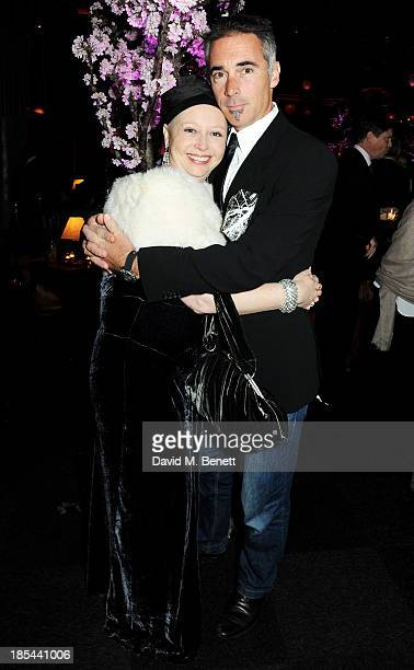 Greg Wise and sister Claire attend an after party for the Closing Night Gala European Premiere of 'Saving Mr Banks' during the 57th BFI London Film...