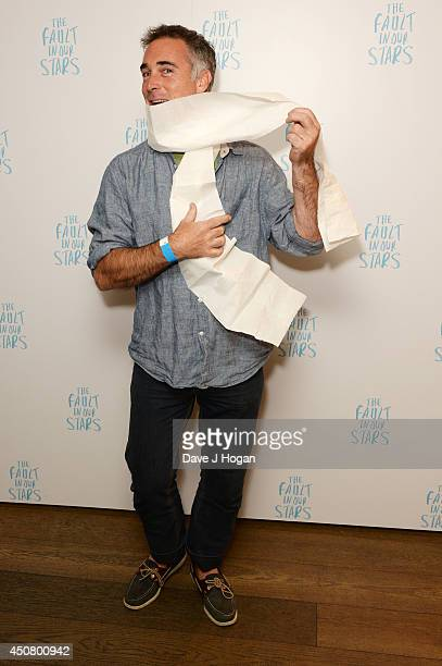 Greg Wise attends a special screening of 'The Fault In Our Stars' at The Mayfair Hotel on June 17 2014 in London England