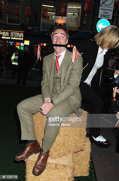 Greg Wise attends the UK Premiere of 'Morris A Life With Bells On' at the Prince Charles Cinema on September 24 2009 in London England