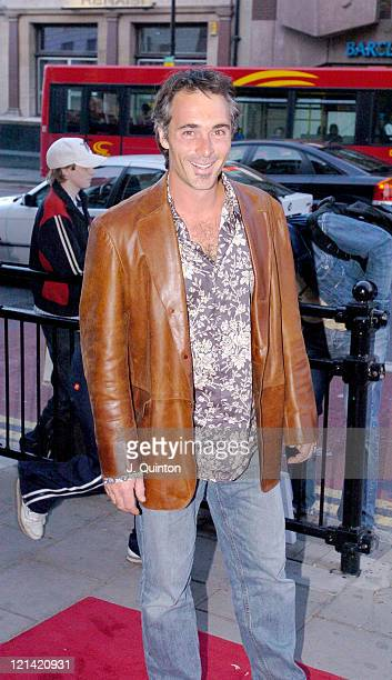 Greg Wise during Hackney Empire Cabaret Performance Arrivals at Hackney Empire in London Great Britain