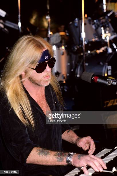 Gregg Allman at The Pier in New York City on August 15 1987