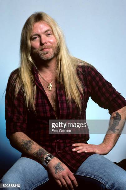 Gregg Allman in New York City on March 11 1987