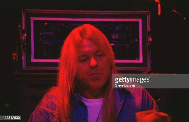 Gregg Allman of the Allman Brothers Band during Greg Allman of Allman Brothers in Vermont Vermont United States