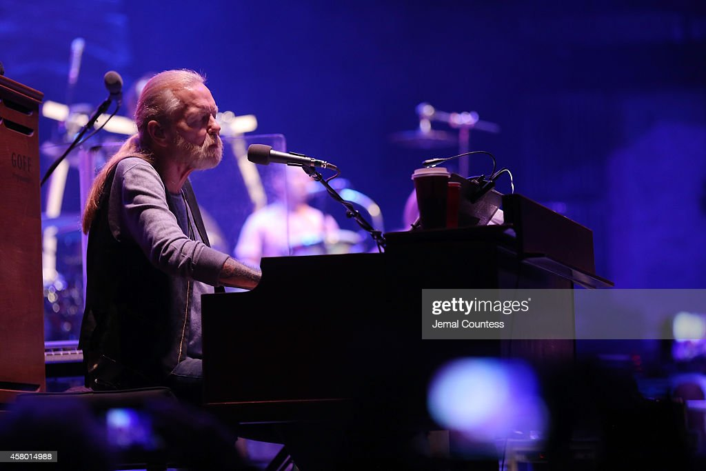 Gregg Allman of The Allman Brothers Band performs at The Beacon Theatre on October 28, 2014 in New York City.