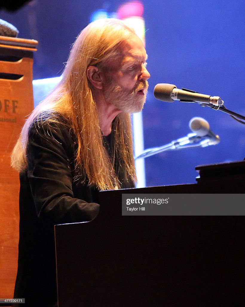 Gregg Allman of The Allman Brothers Band performs in concert at Beacon Theatre on March 7, 2014 in New York City.