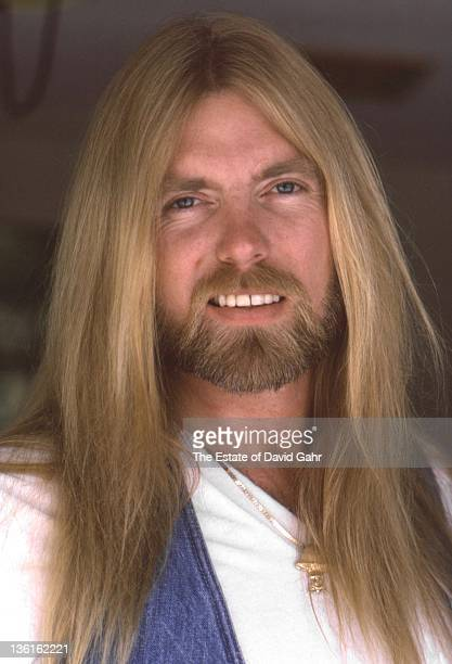 Gregg Allman of The Allman Brothers poses for a portrait in March1982 in Sarasota Florida