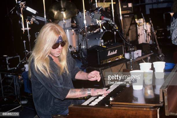 Gregg Allman performing at The Pier in New York City on August 15 1987