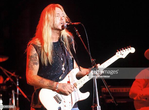 Gregg Allman performing at the San Jose Civic Auditorium in San Jose California on November 7 1993