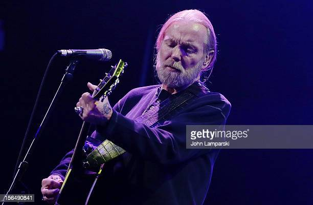 Gregg Allman performs at the 15th Annual Samuel Waxman Cancer Research Foundation Collaborating For A Cure Benefit at the Park Avenue Armory on...