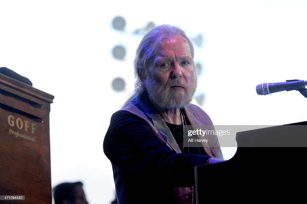 Gregg Allman performs onstage during day two of 2015 Stagecoach, California's Country Music Festival, at The Empire Polo Club on April 25, 2015 in Indio, California.