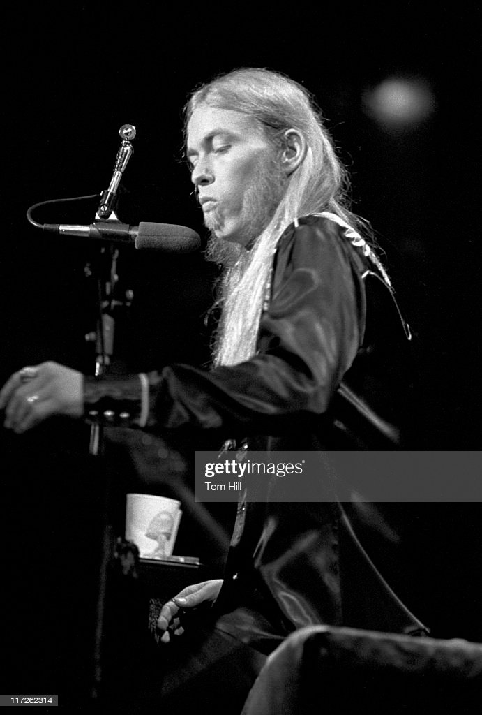 Gregg Allman of the Allman Brothers Band during Gregg Allman Solo Tour at the Fox Theater in Atlanta - May 20, 1974 at Fox Theater in Atlanta, Georgia, United States.