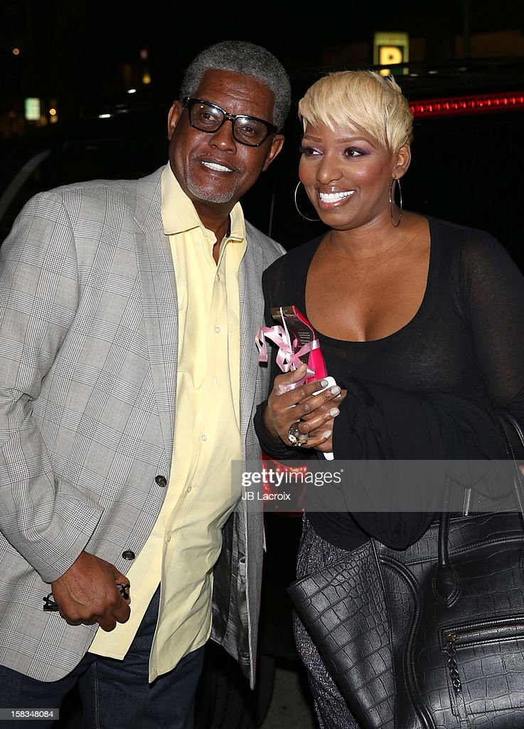 Gregg Leakes and Nene Leakes are seen on December 13, 2012 in Los Angeles, California.