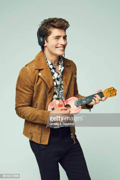 Gregg Sulkin of Hulu's 'Marvel's Runaways' poses for a portrait during the 2017 Summer Television Critics Association Press Tour at The Beverly...