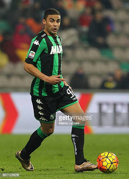 Gregoire Defrel of US Sassuolo Calcio in action during the Serie A match betweeen US Sassuolo Calcio and Torino FC at Mapei Stadium Città del...