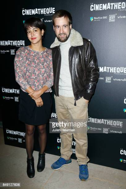 Gregoire Leprince Ringuet and guest attend 'Happy End' Paris Premiere at la cinematheque on September 18 2017 in Paris France
