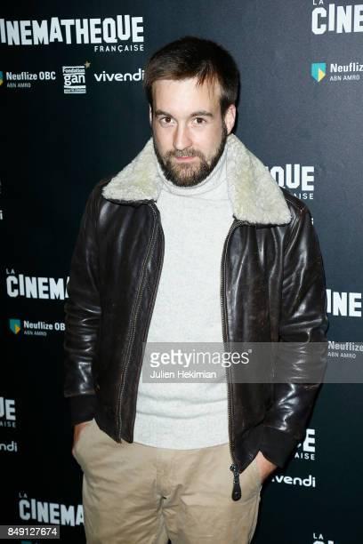 Gregoire Leprince Ringuet attends 'Happy End' Paris Premiere at la cinematheque on September 18 2017 in Paris France
