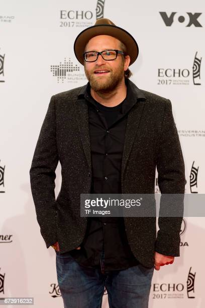 Gregor Meyle on the red carpet during the ECHO German Music Award in Berlin Germany on April 06 2017