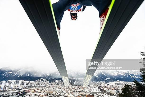 Gregor Schlierenzauer of Austria during the FIS Ski Jumping World Cup Vierschanzentournee on January 04 2015 in Innsbruck Austria