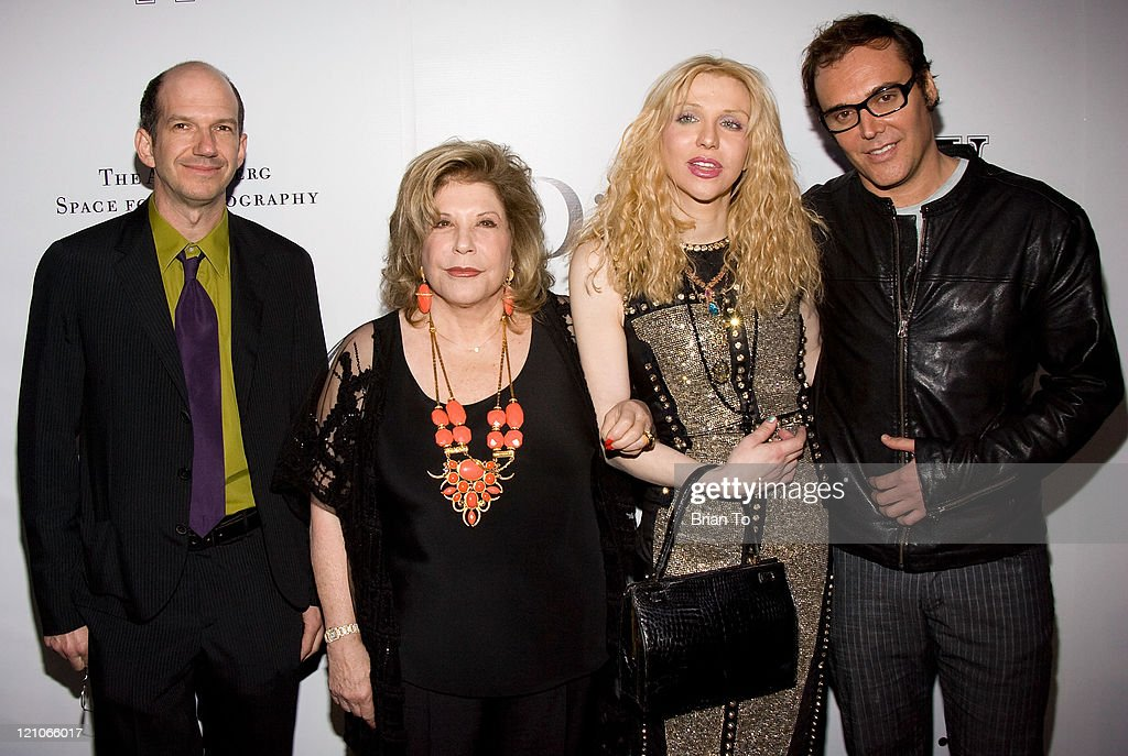 Gregory Annenberg Weingarten, Wallis Annenberg, Courtney Love and David LaChapelle attend W Magazine & Christian Dior Celebrate Opening of The Annenberg Space for Photography on March 26, 2009 in Los Angeles California.