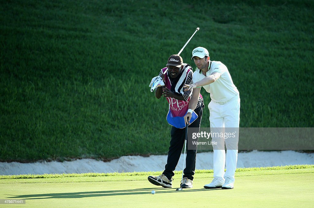 <a gi-track='captionPersonalityLinkClicked' href=/galleries/search?phrase=Gregory+Bourdy&family=editorial&specificpeople=576091 ng-click='$event.stopPropagation()'>Gregory Bourdy</a> of France checks the line of his putt during the second round of the Tshwane Open at Copperleaf Golf & Country Estate on February 28, 2014 in Centurion, South Africa.