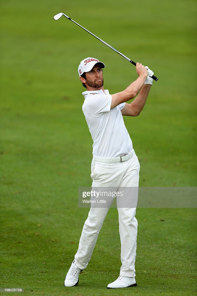 Gregory Bourdy of France in action during the final round of the Alfred Dunhill Championship at Leopard Creek Country Golf Club on December 16, 2012 in Malelane, South Africa.