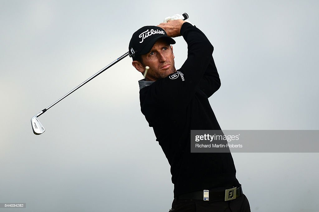 <a gi-track='captionPersonalityLinkClicked' href=/galleries/search?phrase=Gregory+Bourdy&family=editorial&specificpeople=576091 ng-click='$event.stopPropagation()'>Gregory Bourdy</a> of France tees off on the 11th hole during the second round of the 100th Open de France at Le Golf National on July 1, 2016 in Paris, France.