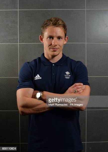 Gregory Cackett during the PyeongChang 2018 Olympic Winter Games photocall at Heriot Watt University Oriam PRESS ASSOCIATION Photo Picture date...