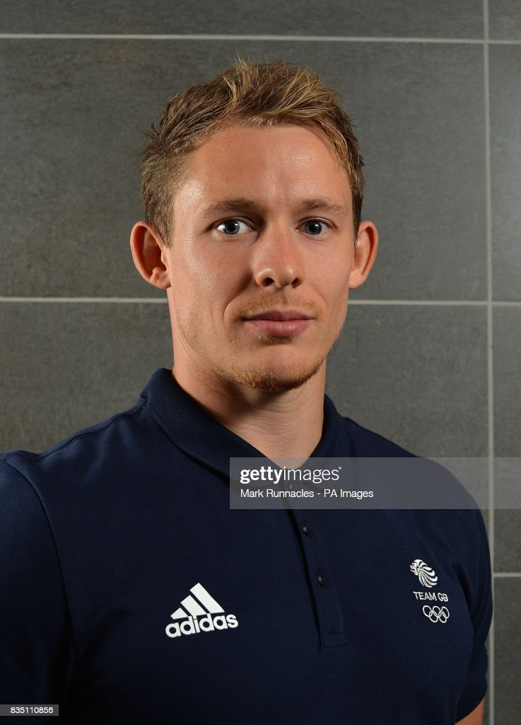 Gregory Cackett during the PyeongChang 2018 Olympic Winter Games photocall at Heriot Watt University, Oriam. PRESS ASSOCIATION Photo. Picture date: Friday August 18, 2017. Photo credit should read: Mark Runnacles/PA Wire