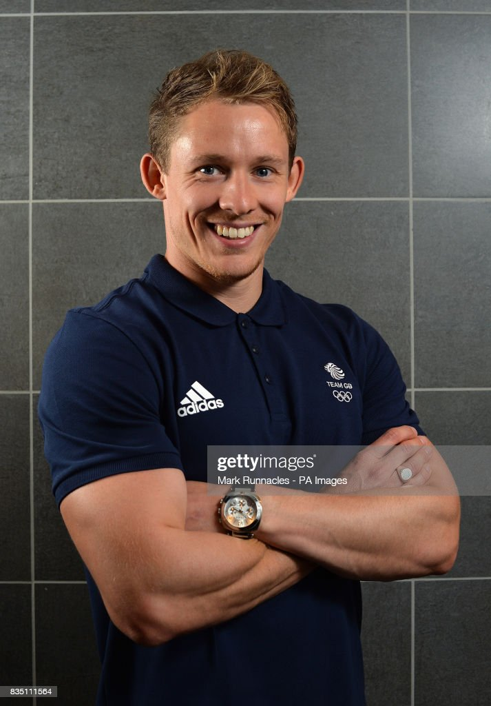 Gregory Cackett during the PyeongChang 2018 Olympic Winter Games photocall at Heriot Watt University, Oriam.