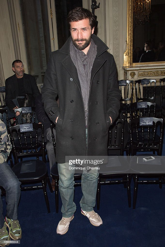 Gregory Fitoussi attends the Valentino Men Autumn / Winter 2013 show as part of Paris Fashion Week on January 16, 2013 in Paris, France.