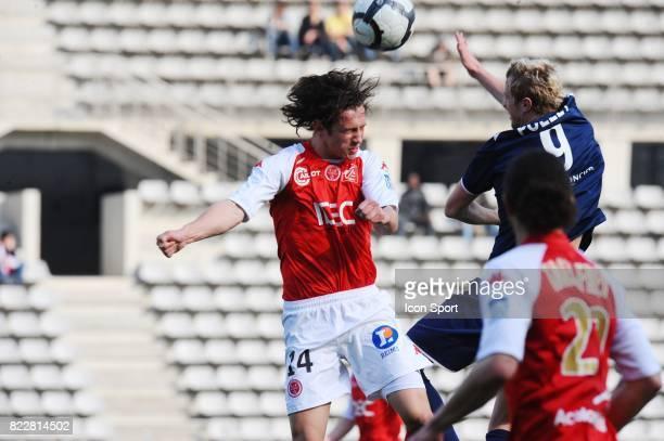 Gregory KRYCHOWIAK Paris FC / Reims 32me journee de National Stade Charlety Paris