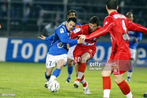 Gregory LACOMBE / Mehdi MOSTEFA Nimes / Montpellier 31e journee Ligue 2