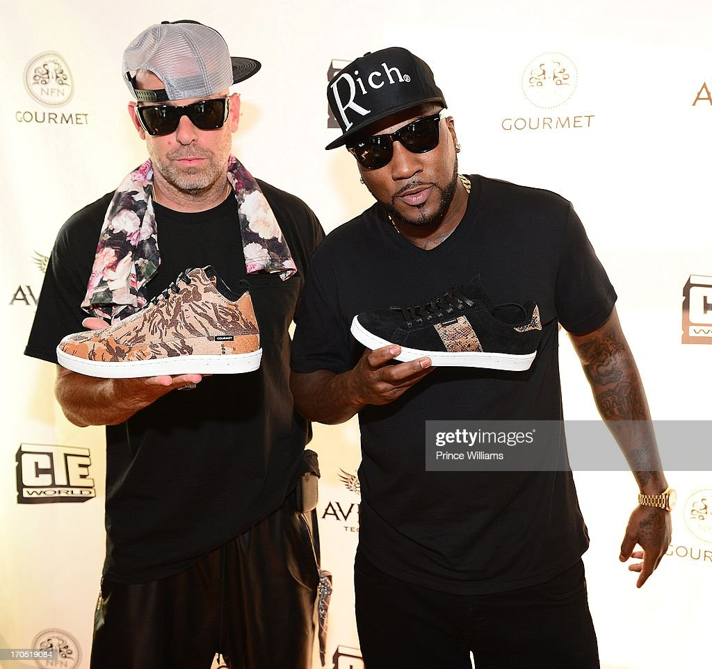 Gregory Lucci attend the Young Jeezy and Gourmet Footwear branding partnership launch at Wish Shoe Store on June 13, 2013 in Atlanta, Georgia.
