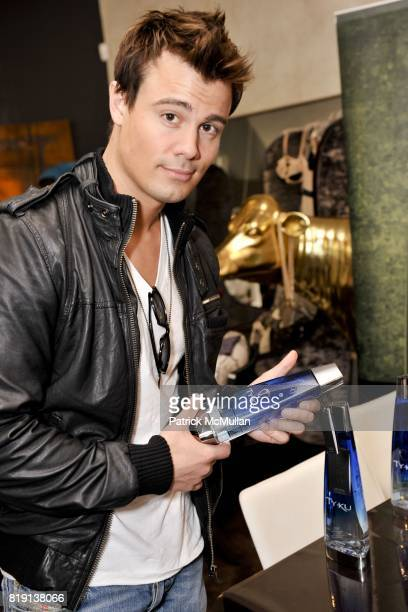 Gregory Michael attends Silver Spoon Presents Oscar Weekend Red Cross Event For Haiti Relief at Interior Illusions on March 3 2010 in West Hollywood...