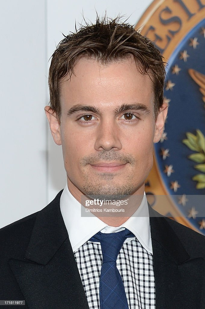 Gregory Michael attends 'White House Down' New York premiere at Ziegfeld Theater on June 25, 2013 in New York City.