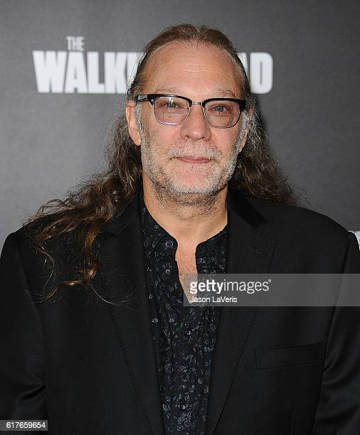 Gregory Nicotero attends the live 90minute special edition of 'Talking Dead' at Hollywood Forever on October 23 2016 in Hollywood California