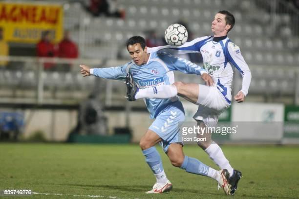 Gregory PAISLEY / Kevin LEJEUNE Auxerre / Strasbourg 21eme journee de Ligue 1