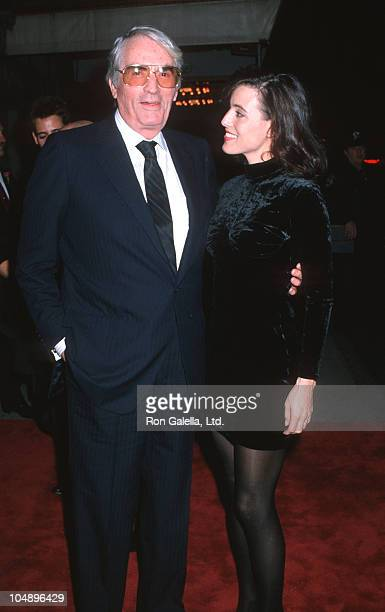 Gregory Peck and Cecila Peck during 'Old Gringo' Premiere After Party at Ziegfeld Theater/Plaza Hotel in New York City NY United States