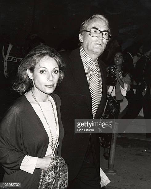 Gregory Peck and wife Veronique during 'A Little Romance' World Premiere Filmex Opening Honoring Laurence Olivier in Century City CA United States