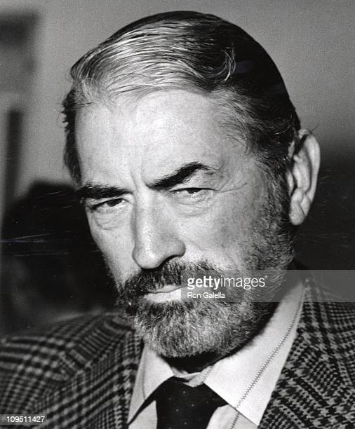 Gregory Peck during 16th Annual Hugh O'Brien Acting Awards at UCLA in Los Angeles California United States