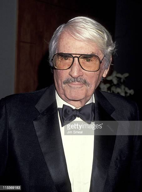 Gregory Peck during 50th Anniversary Party for Lydia Heston and Charles Heston at Hotel Nikko in Beverly Hills California United States