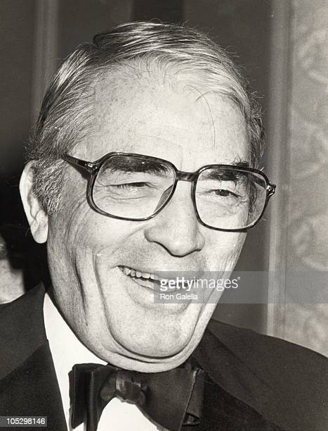Gregory Peck during American Technion Society's Albert Einstein Award at Beverly Hilton Hotel in Beverly Hills California United States