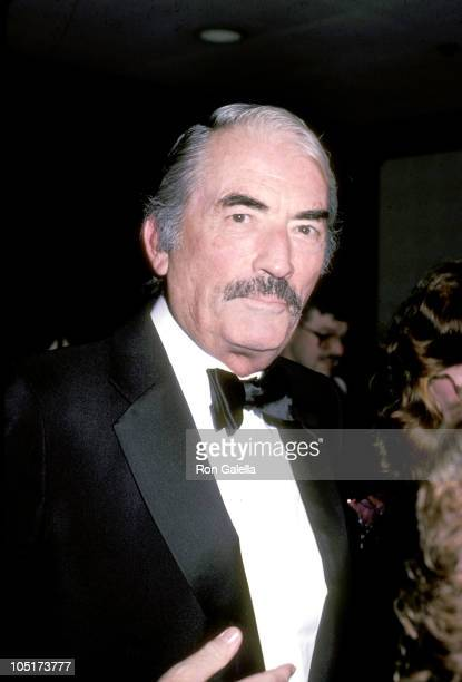 Gregory Peck during Annual Women in Showbusiness Gala Dinner Awards Ceremony at Century Plaza Hotel in Los Angeles California United States