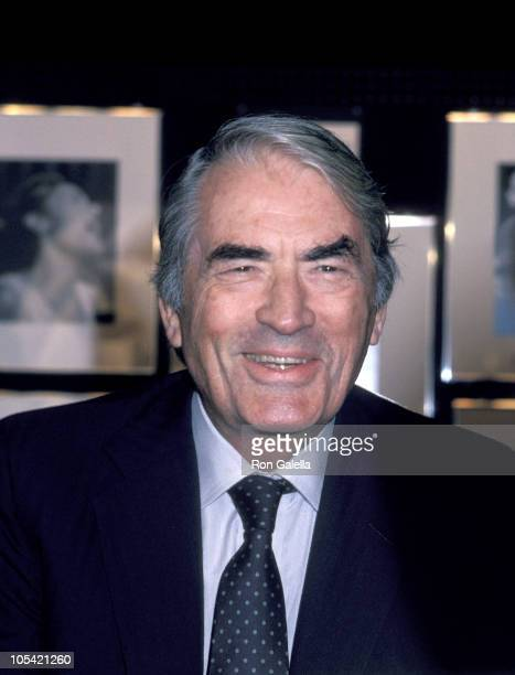Gregory Peck during Gregory Peck at Westside Arts Theater September 9 1986 at Westside Arts Theater in New York City New York United States
