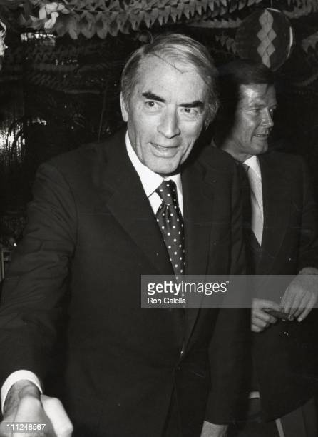 Gregory Peck during Regine's Valentines Party at Regine's in New York City New York United States