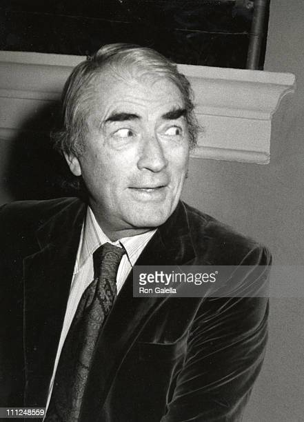 Gregory Peck during Rod Stewart's Birthday Party January 10 1981 at Rod Stewart's Home in Beverly Hills California United States