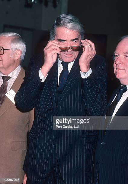 Gregory Peck during The 57th Annual Academy Awards Nominees Luncheon at Beverly Hilton Hotel in Beverly Hills California United States