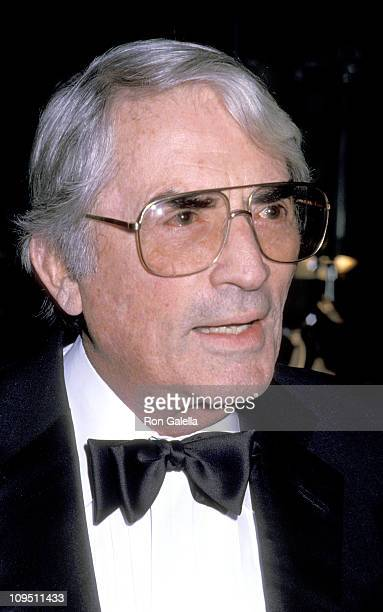 Gregory Peck during Tribute to Robert Wise at Beverly Hilton Hotel in Beverly Hills California United States
