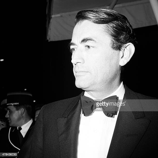 Gregory Peck in the Cannes film festival
